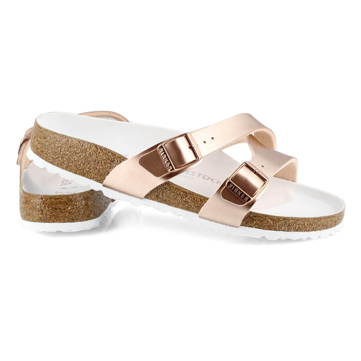 Women's Yao Narrow Sandal - Metallic Copper