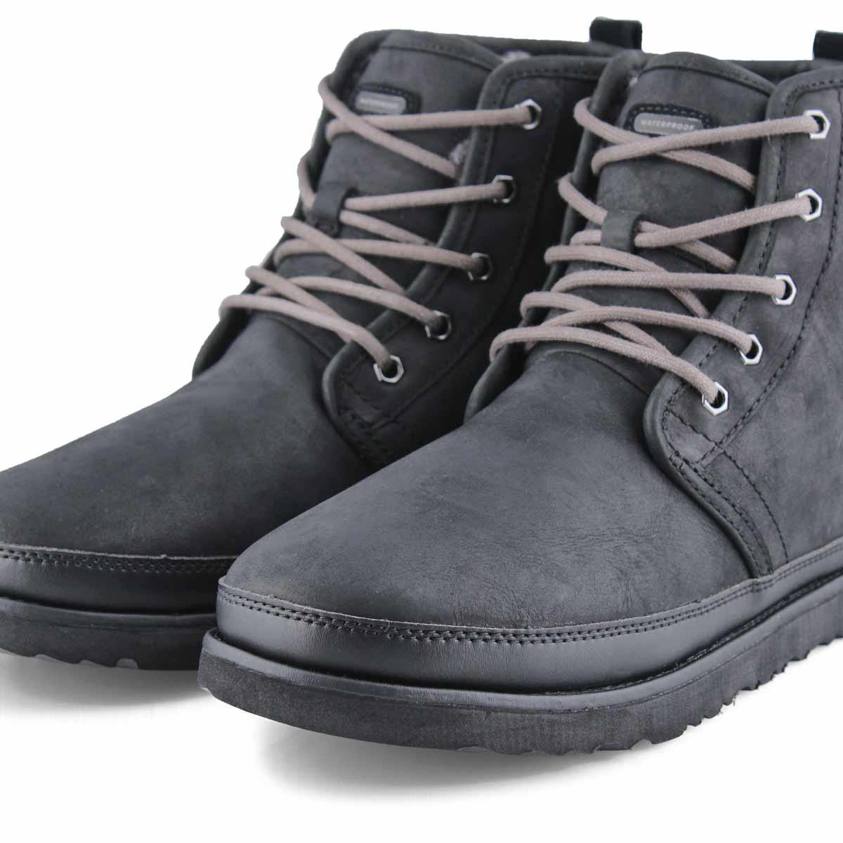 Men's Harkley Lace Up Waterproof Ankle Boot - Blk