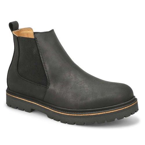 Mns Stalon black chelsea boot