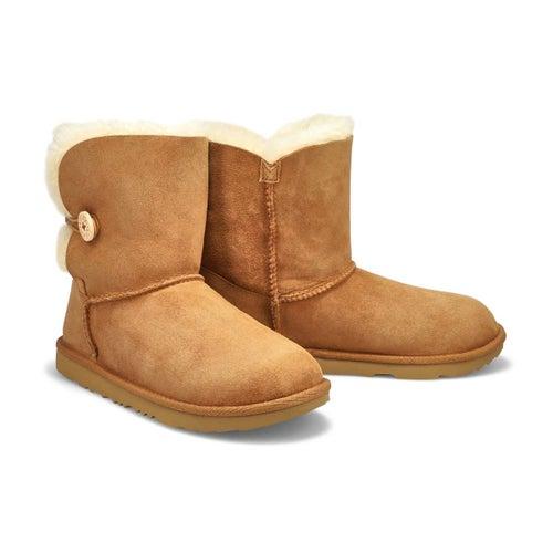 Grls Bailey Button II che sheepskin boot
