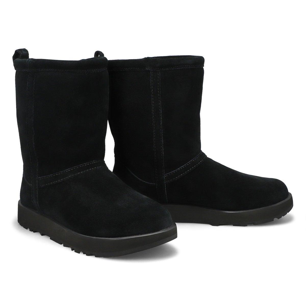 Women's Classic Short Waterproof Boot - Black