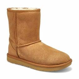 Grls Classic II chestnut sheepskin boot