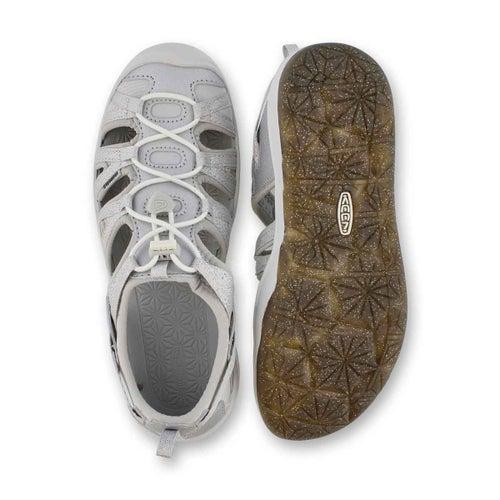 Grls Moxie silver sport sandal
