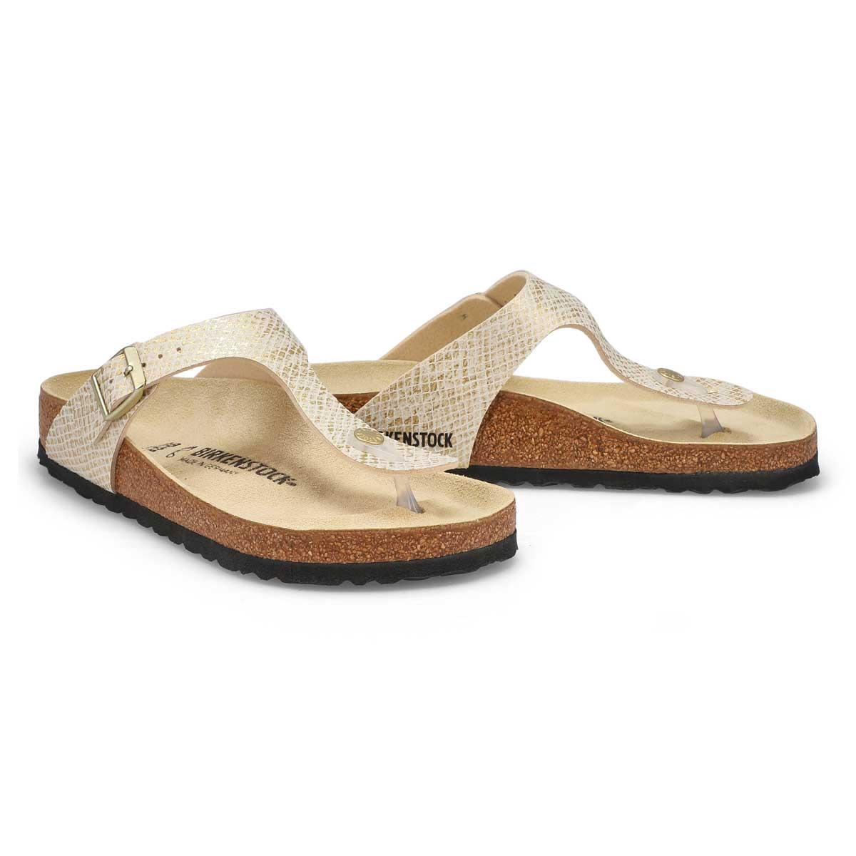 Women's Gizeh Thong Sandal - Python