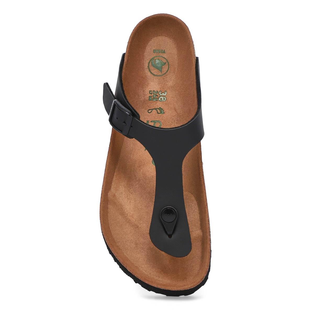 Sandale GIZEH PLATFORM VEGAN,noir,BF