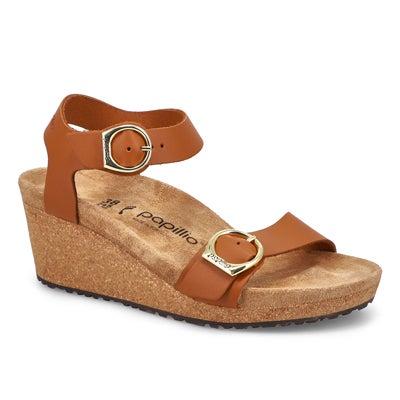 Sandale à talon compensé Soley, femmes