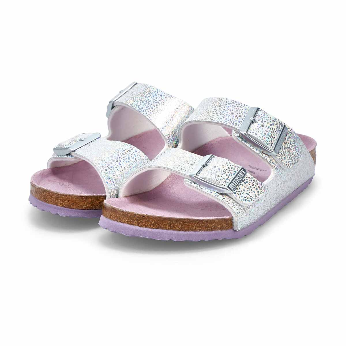 Girls' Arizona Narrow Sandal - Disco Ball