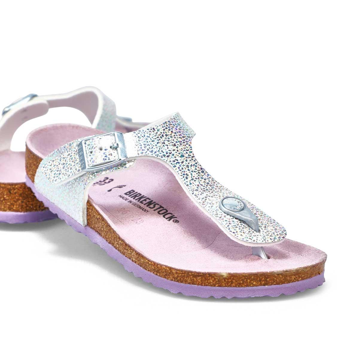 Girls' Gizeh Narrow Sandal - Disco Ball