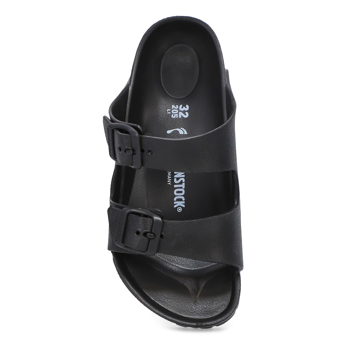 Kids' Arizona EVA narrow sandal - black