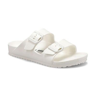 Kds Arizona EVA white 2-strap sandal-N