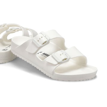 Kids' Arizona EVA narrow sandal - white