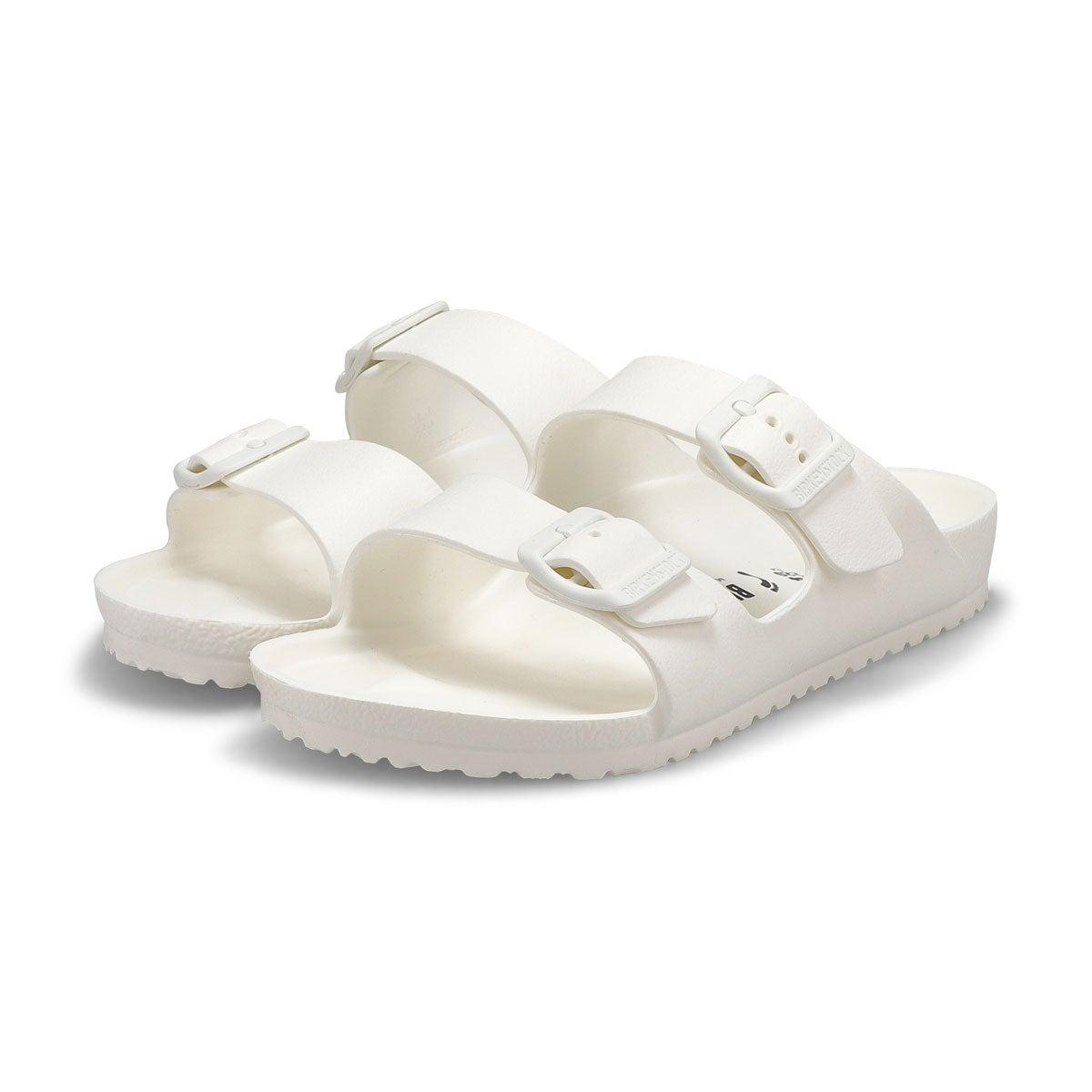 Kids' Arizona EVA narrow sandal - white