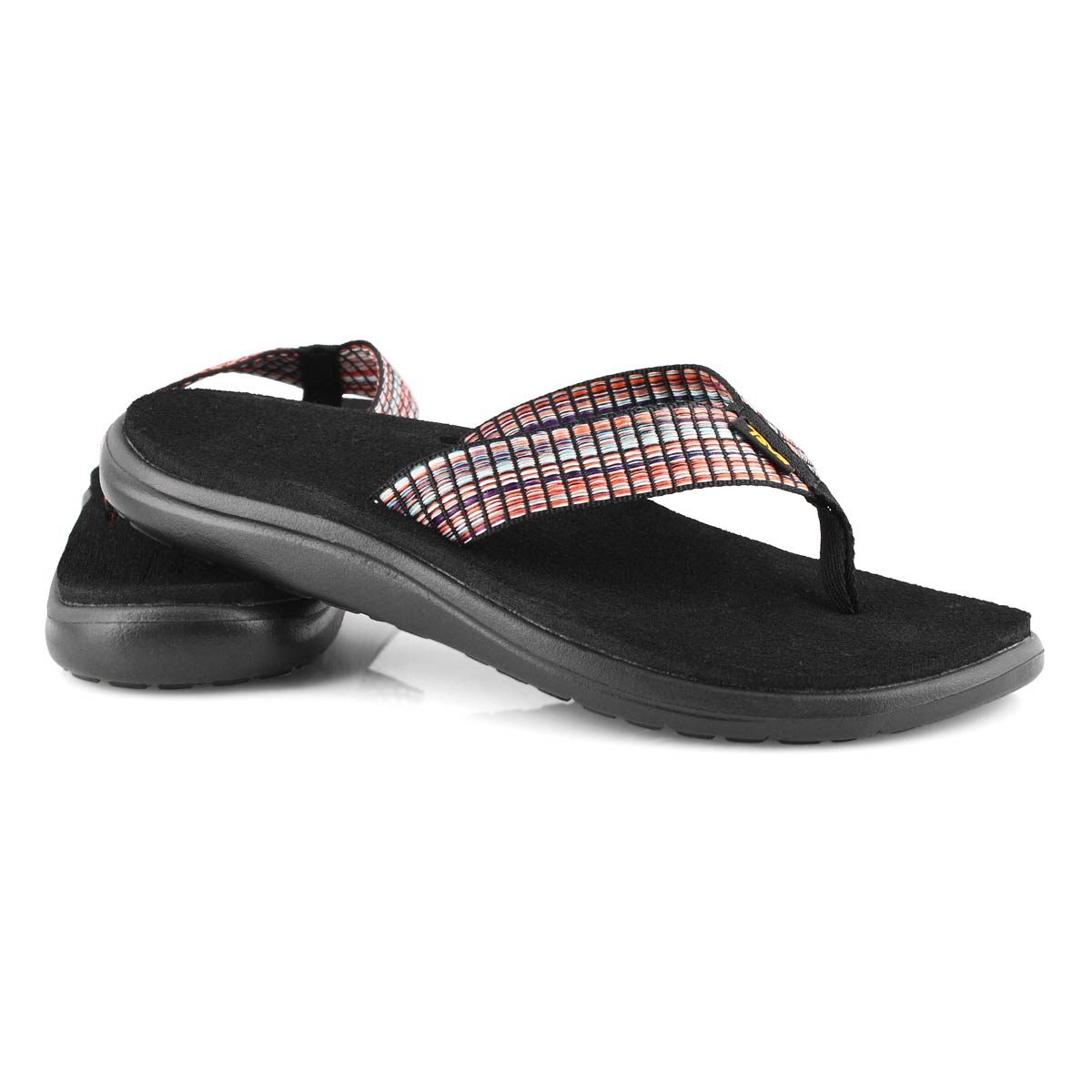 Women's VOYA FLIP multi/ black casual sandals