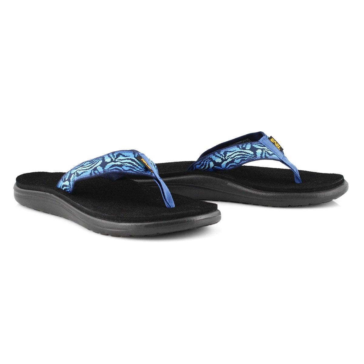 Women's VOYA FLIP minoa black iris casual sandals