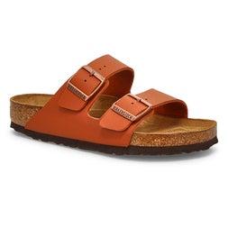 Lds Arizona SF ginger brn 2-strap sandal