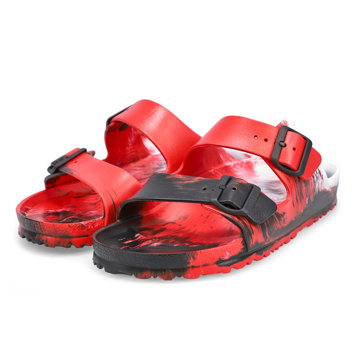 Sandale Arizona EVA rouge marbre, hommes