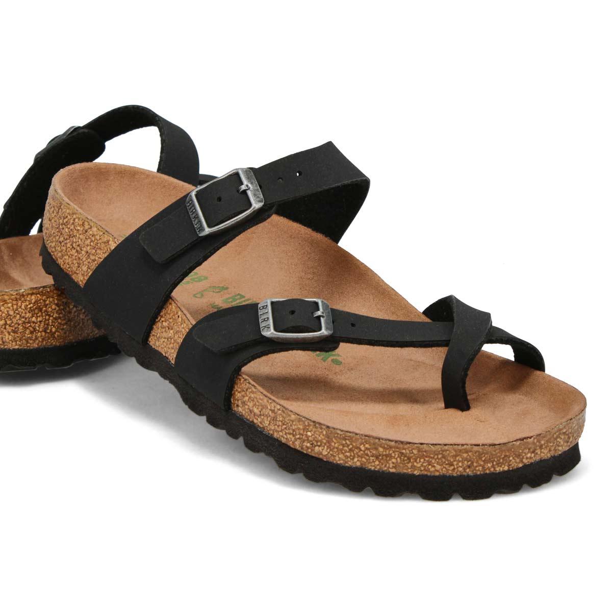Sandale passe-orteil MAYARI VEGAN BF noire, femmes