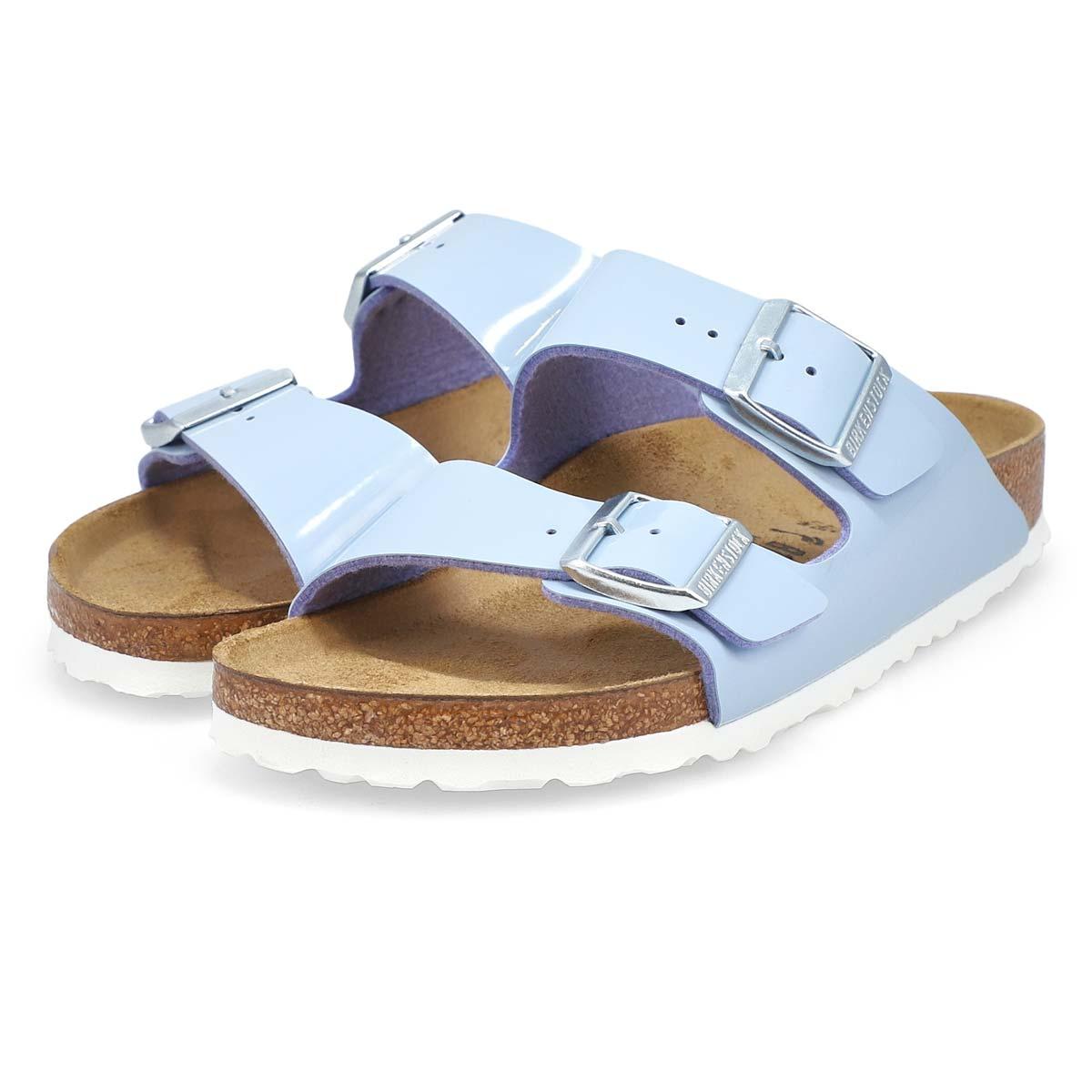 Women's Arizona BF Narrow Sandal -Patent Dove Blue
