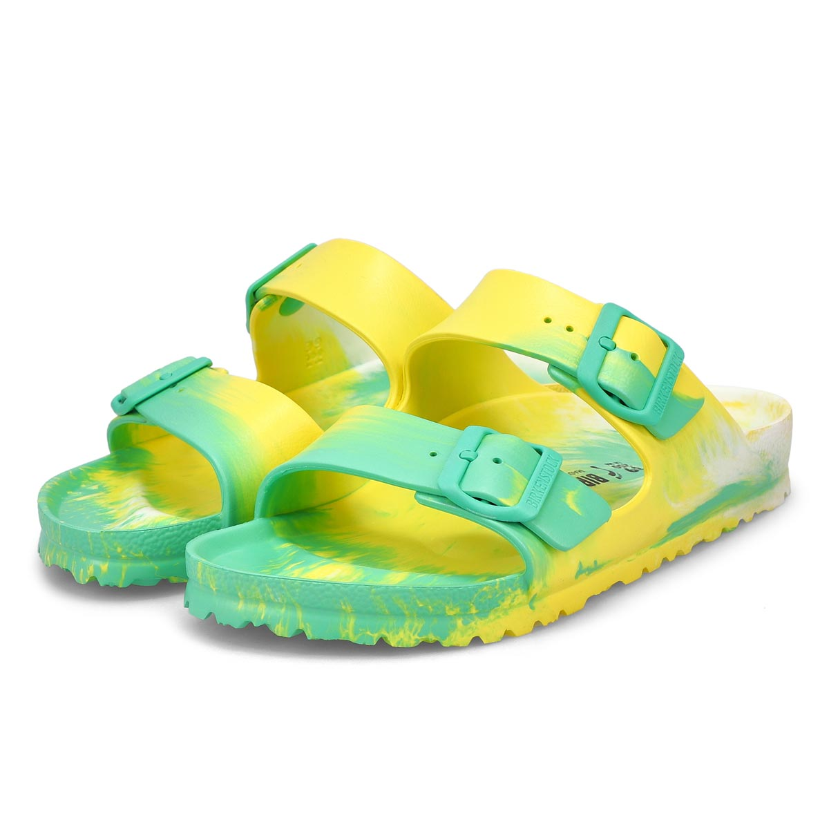 Women's Arizona EVA Sandal - Marble Green/Yellow