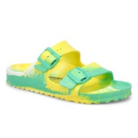 Women's Arizona EVA Sandal - Marble Green/Yellow