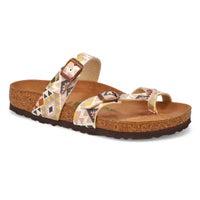 Sandale MAYARI VEGAN moka femmes