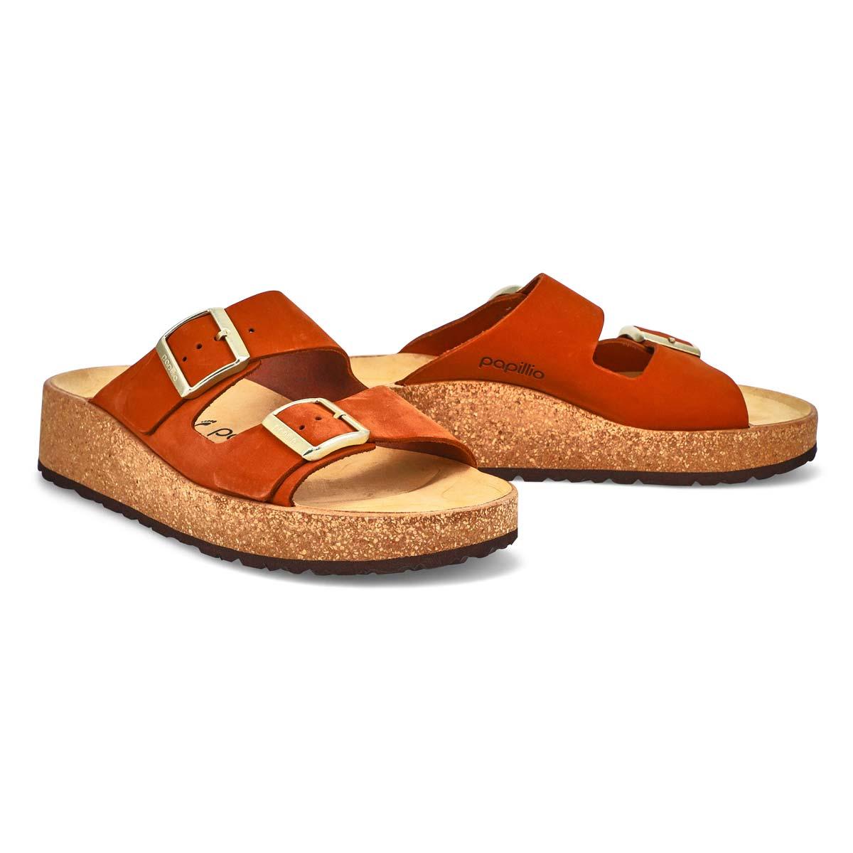 Women's Gabriella Platform Sandal -Pecan/Narrow
