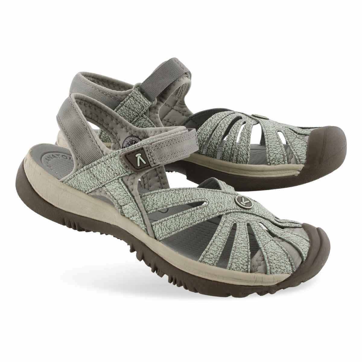 Women's ROSE lily pad/celadon sport sandals