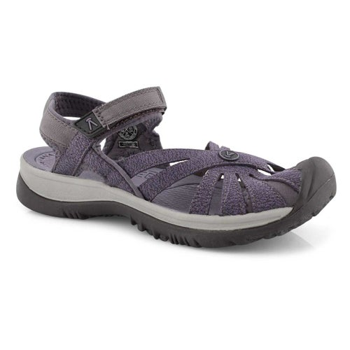 Lds Rose shark/lav gry sport sandal