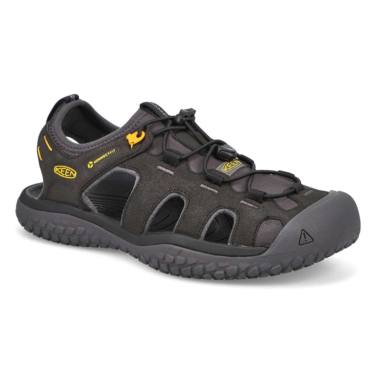 Sandale sport Solr noir/or,hommes