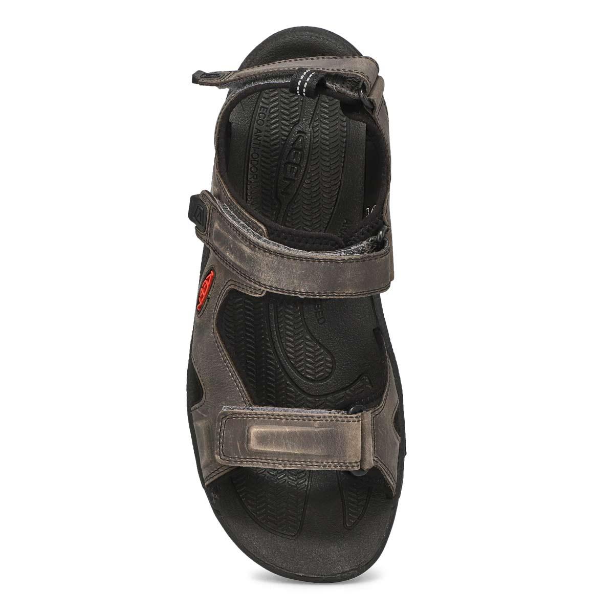Men's Targhee III Open Toe Sandal - Grey/Black