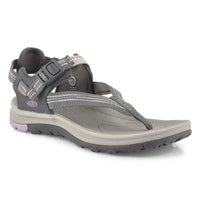 Women's Terradora II Toe Post Sandal - Grey/Pink