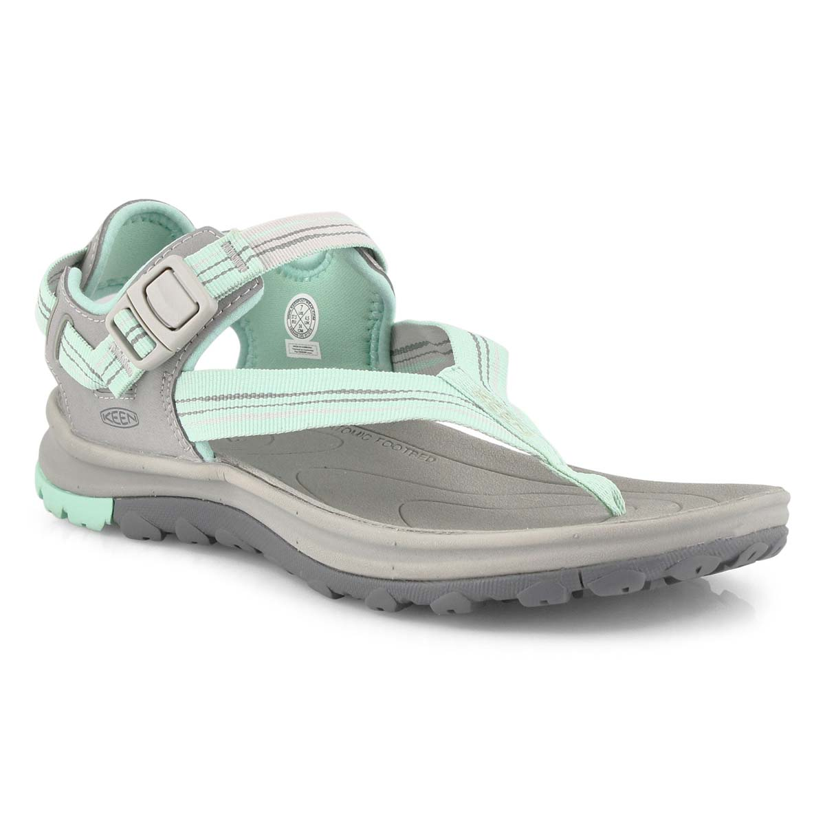 Women's Terradora II Toe Post Sandal - Grey/Ocean