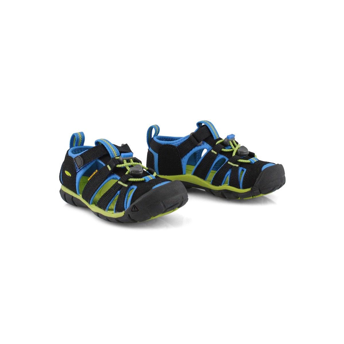 Infant's Seacamp II CNX Sport Sandal - Black/Blue