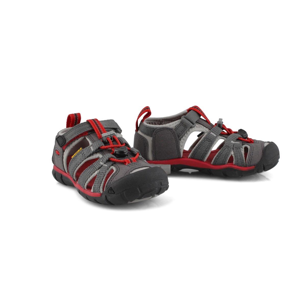 Infant's Seacamp II CNX Sport Sandal - Magnet/Red