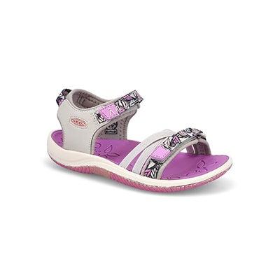 Sandale sport Verano gris/vio, bébé