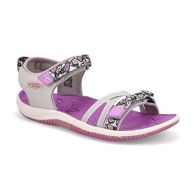 Grls Verano Sport Sandal-Vapor/Violet