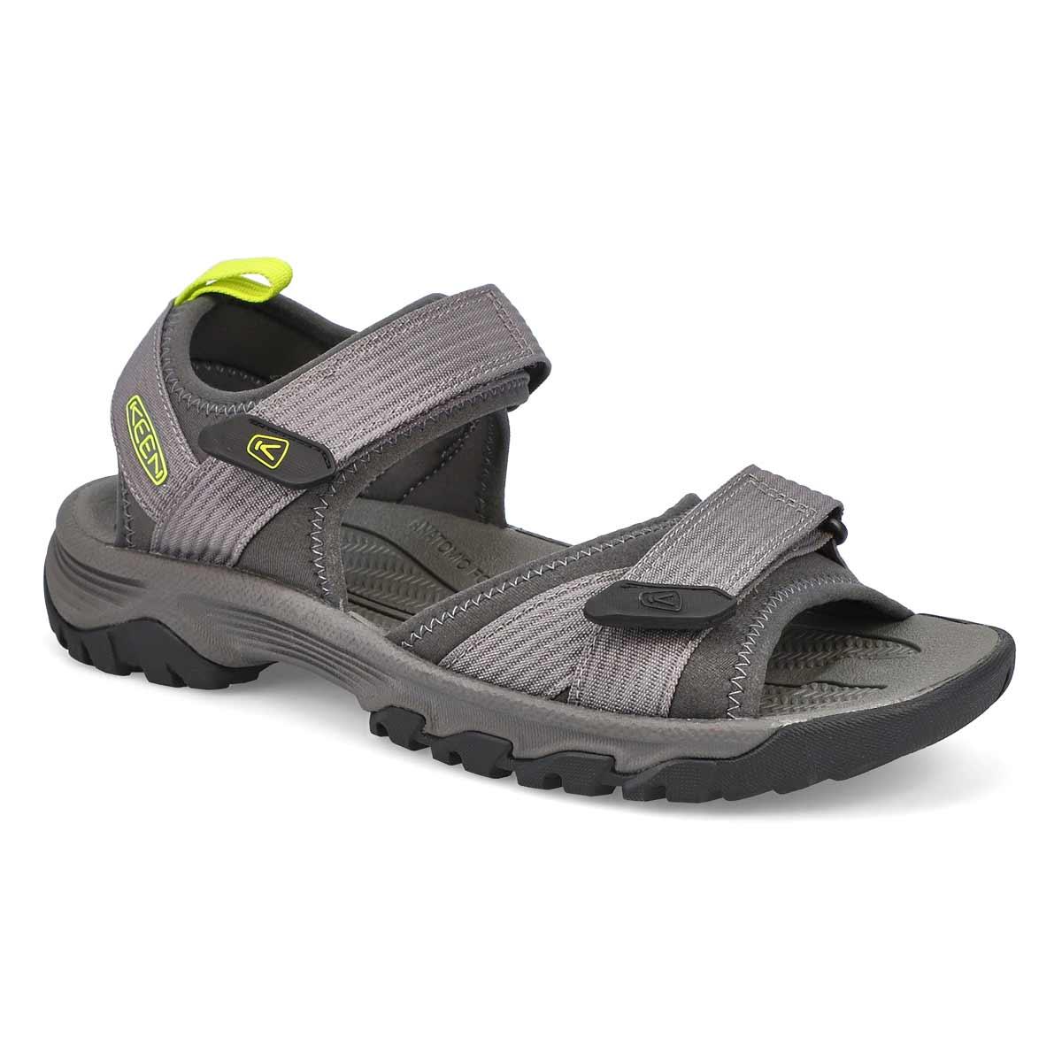 Sandale Targhee III Open Toe H2,gris/vert hommes