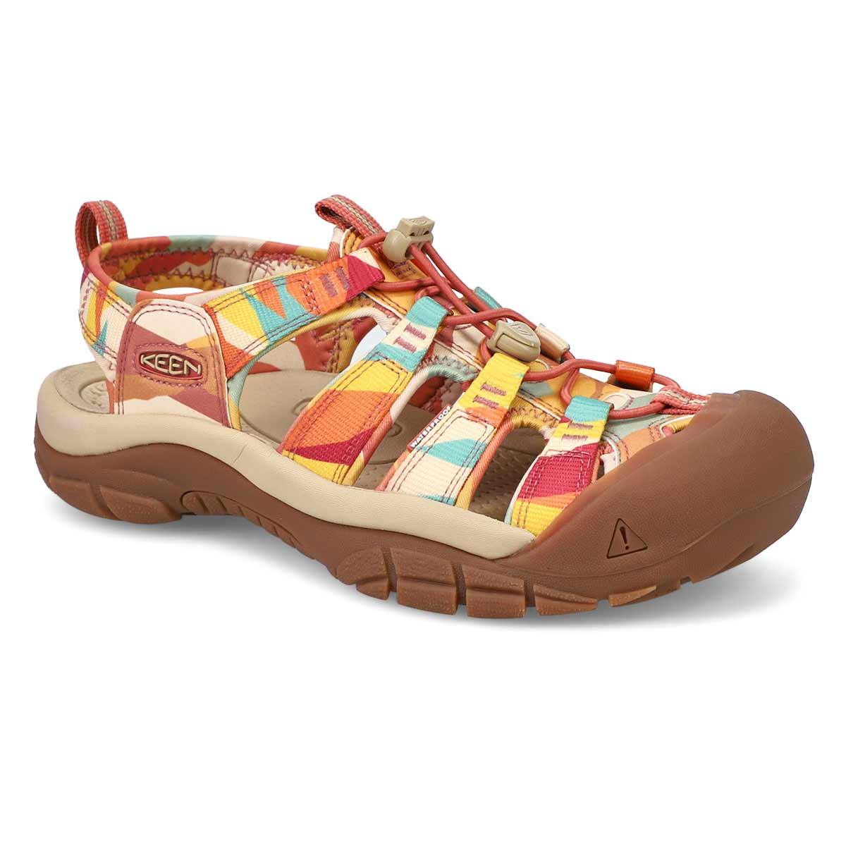Sandale sport NEWPORT H2, rouge/multi,femmes