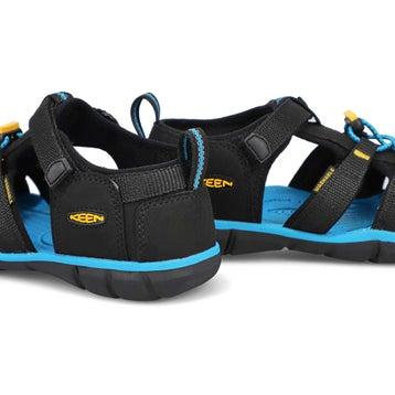 Sandale sport SeacampIICNX noir/jaune garçons