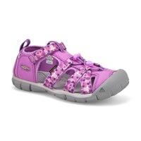 Girls' Seacamp II CNX Sport Sandal-Violet/Lavender