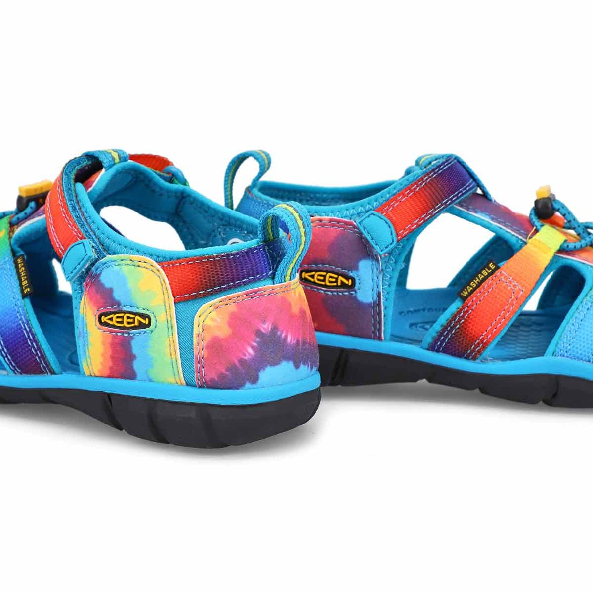 Girls' Seacamp II CNX Sandal - Blue/Tie Dye
