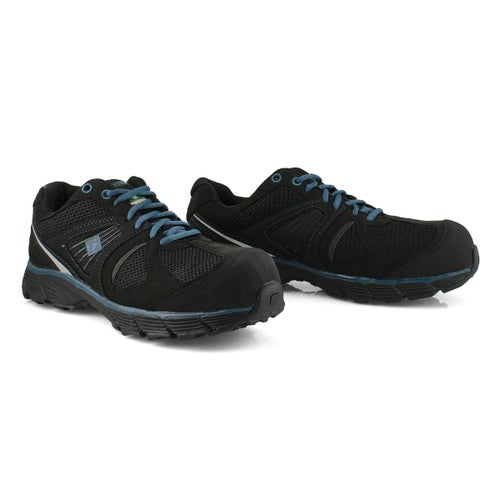 Mns Pacer 2 blk/blu lace up CSA sneaker
