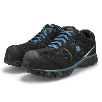 Espadrilles lacées CSA PACER 2, noir/bleu, hommes