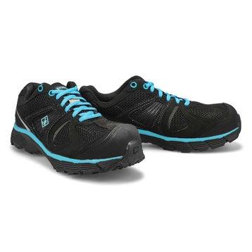 Espadrilles lacées CSA PACER 2, noir/bleu, femmes