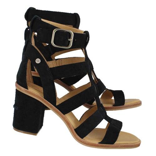 Sandale habillée Macayla, noir, femme
