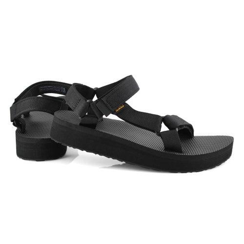 Sandale Midform Universal,noir,femme
