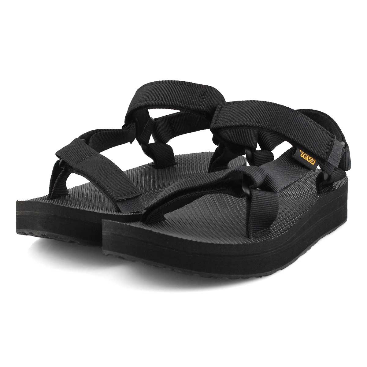 Women's Midform Universal Sport Sandal - Black