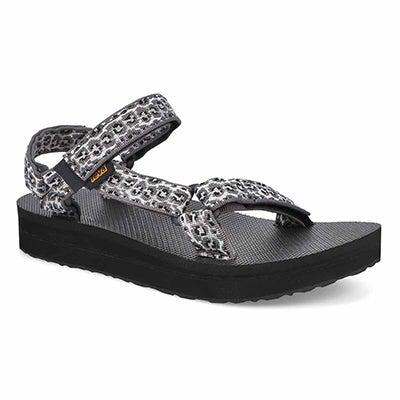 Lds Midform Universal Sandal - Blk/Wht