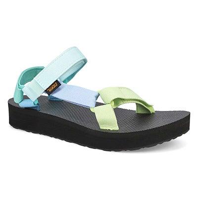 Sandale Midform Universal,vert,femme