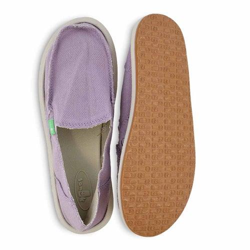 Lds Donna Hemp sea fog slip on shoe